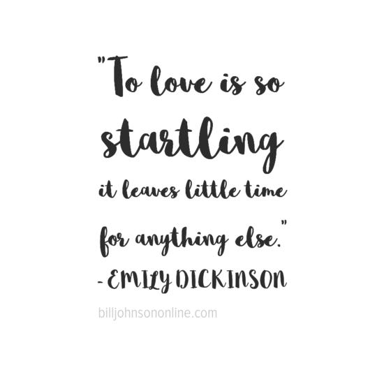 Love is Startling
