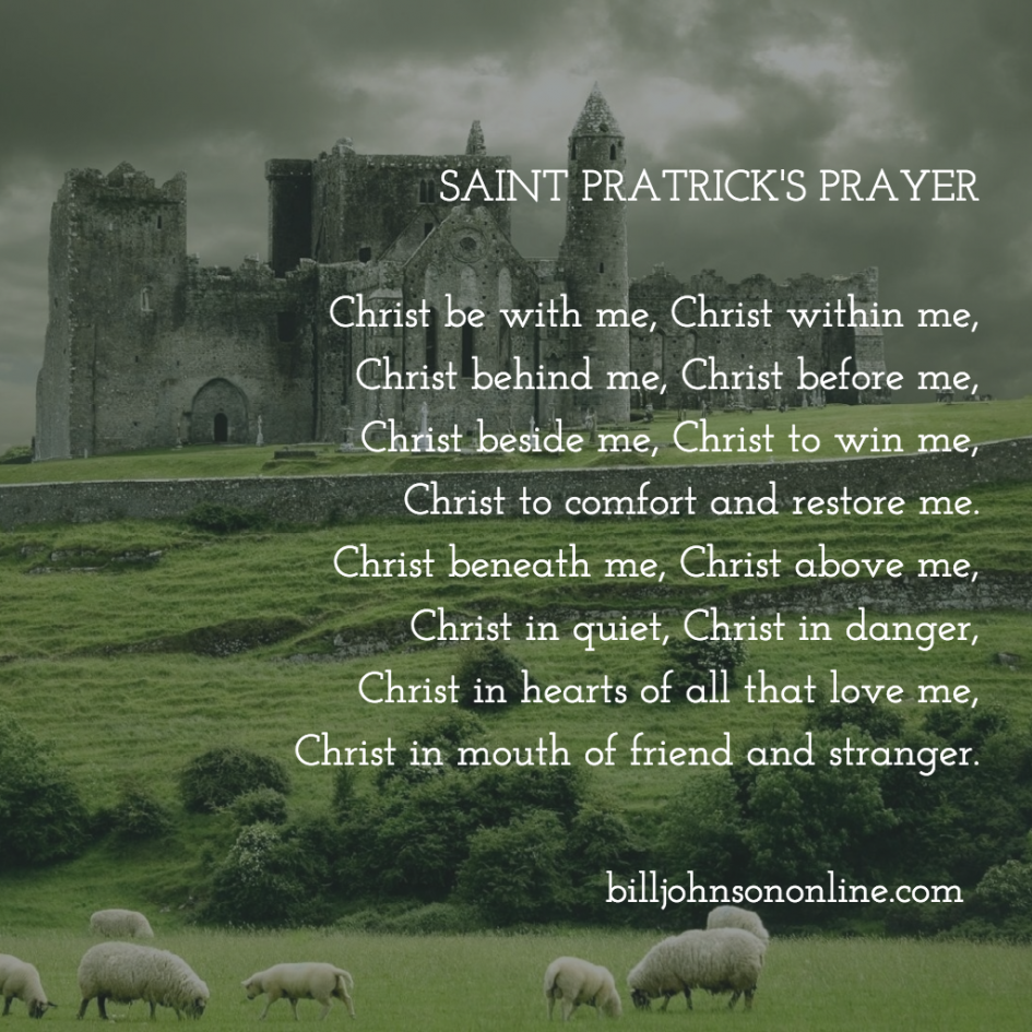 Saint Patrick's Prayer