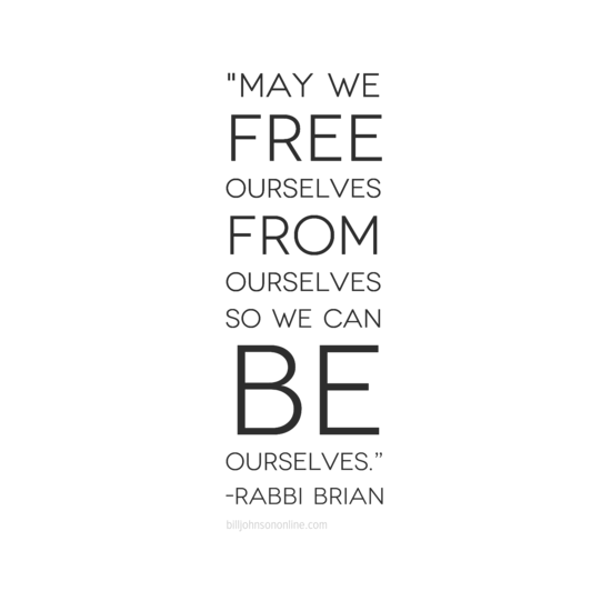 To Be Ourselves