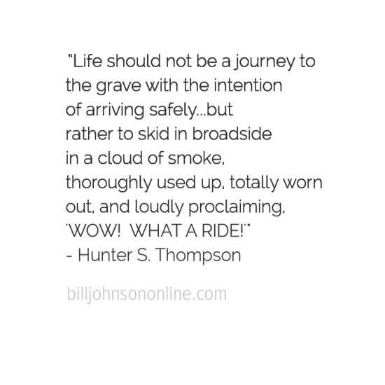 The Ride of Life
